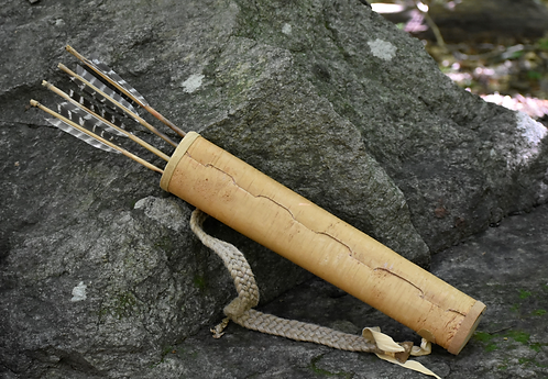 Traditional Birch Bark Quiver