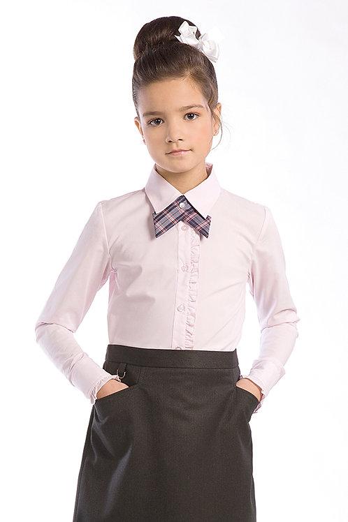 Блузка для девочки 3-22 розовая