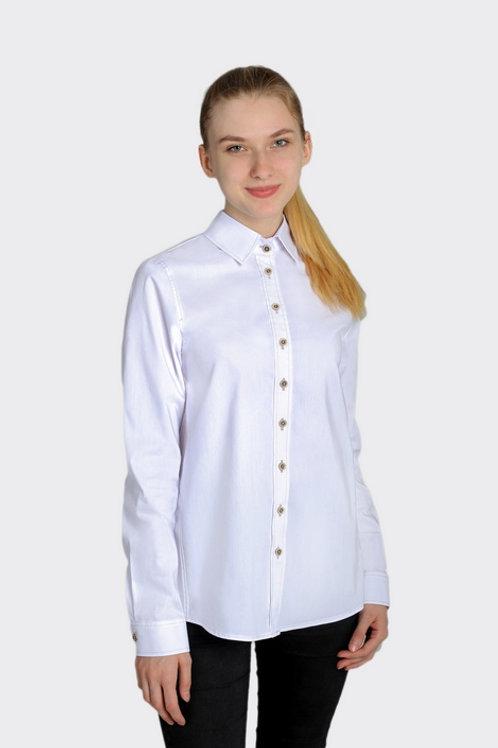 Блузка для девочки 213 белая