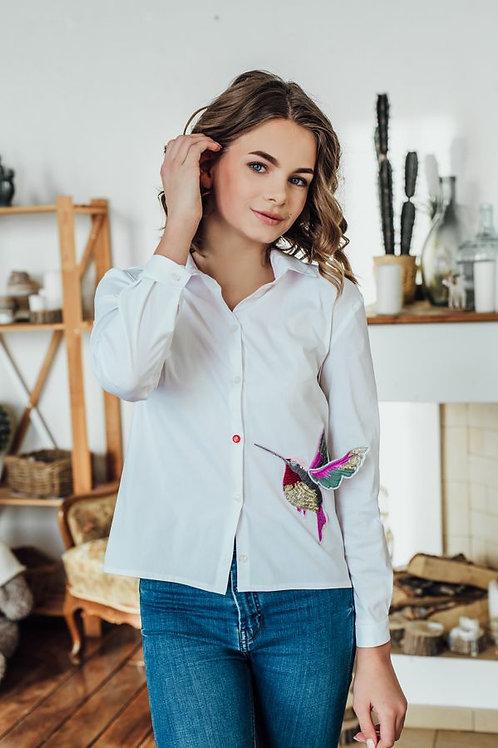 Блузка для девочки 296