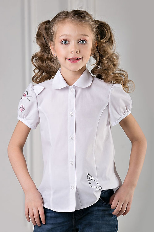 Блузка для девочки 7206