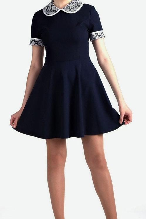 Платье SD A03 синее