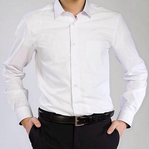 Сорочка подростковая белая д/р.
