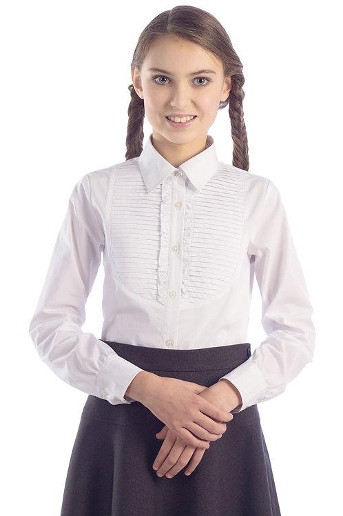 Блузка для девочки 1-33 белая