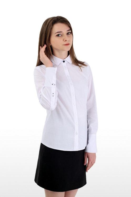 Блузка для девочки 072 белая