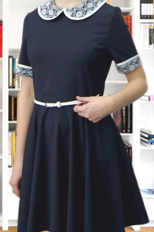 Платье D 18-06 синее