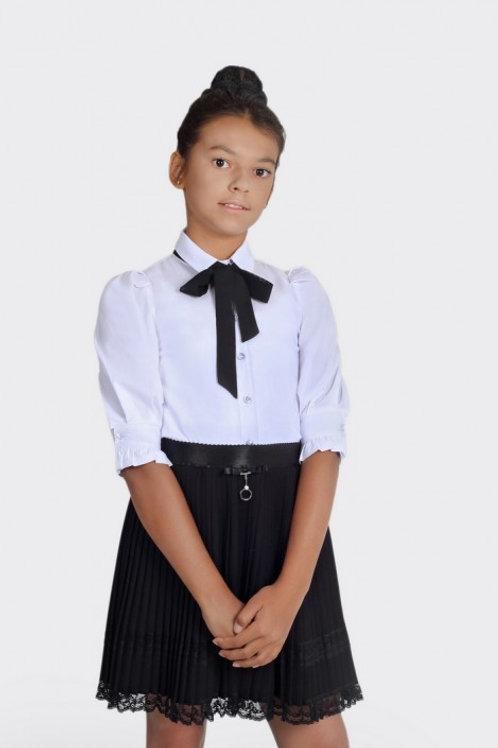 Блузка для девочки 803 белая