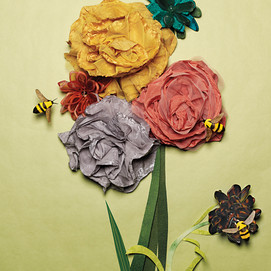 Bumblebees and hair scrunchies