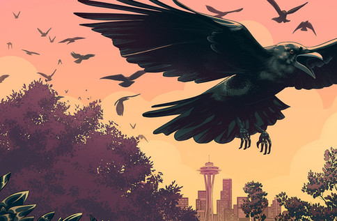 The Secret Life of Urban Crows