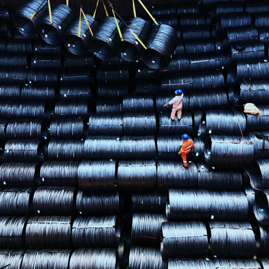Loading wire rods