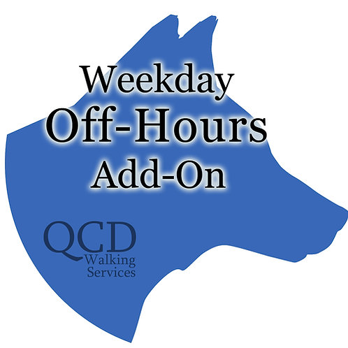 Weekday off-hours add-on before 10am and after 6pm