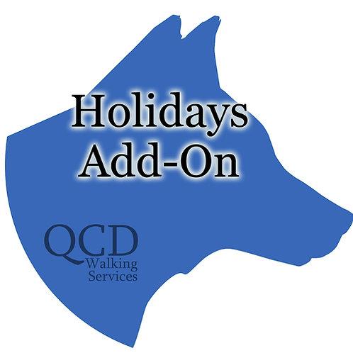 Holidays Add-Ons