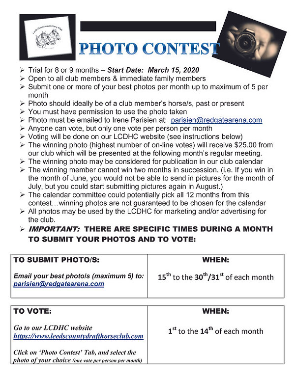 20 03 15 Photo Contest Guidelines FINAL