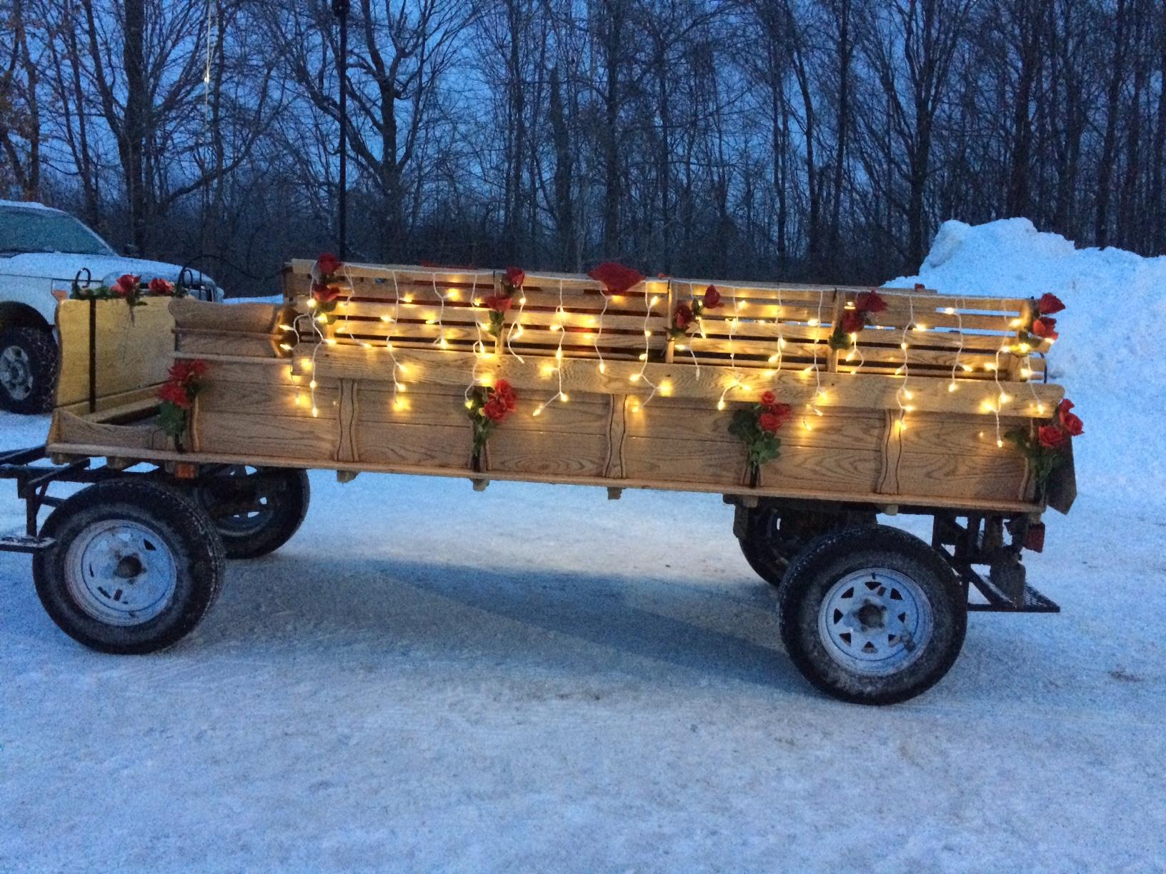 Lighted Wagon