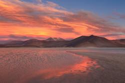 Piedras Rojas Sunset