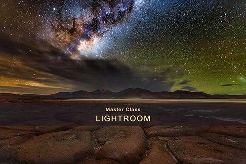 Master Class - Lightroom - 3 horas de duração