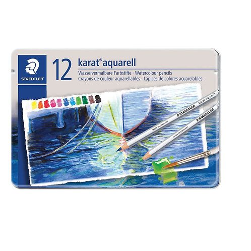 12 Lápices de Colores Acuarelables