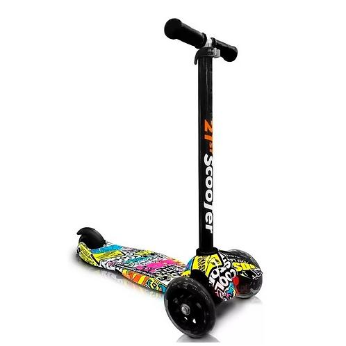 Monopatín Scooter - Con luces y humo