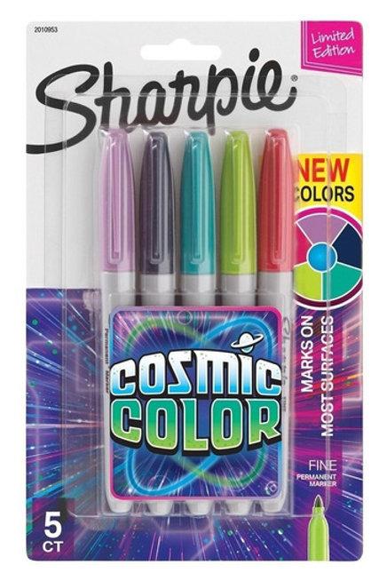 Sharpie cosmic color x5
