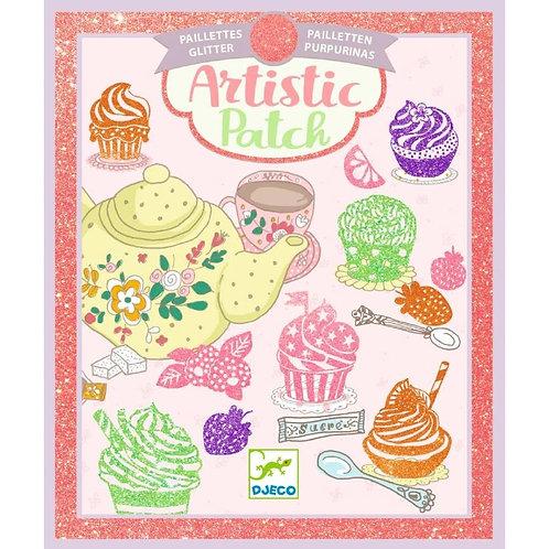 Artistic patch muffin - Djeco