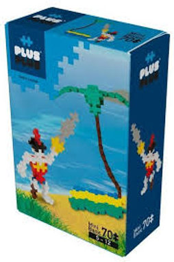 PLUS-PLUS BASIC PIRATE/ 70PCS