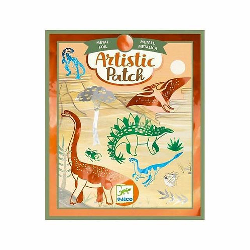 Artistic Patch dinosaurios - Djeco