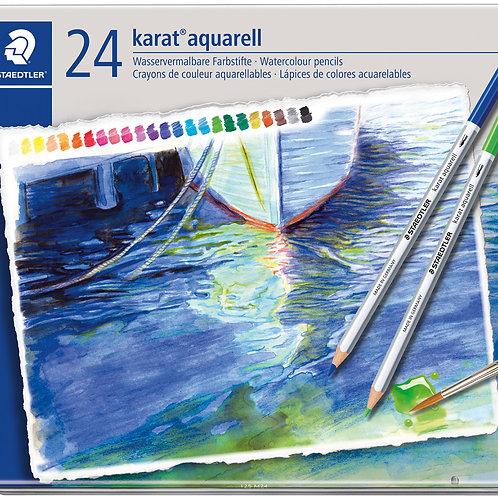 24 Lápices de Colores Acuarelables