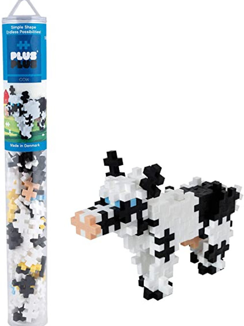 PLUS PLUS COW 100 PCS TUBE