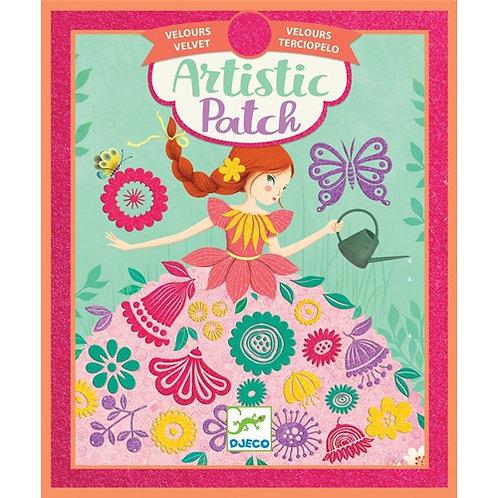 Artistic patch princesas - Djeco