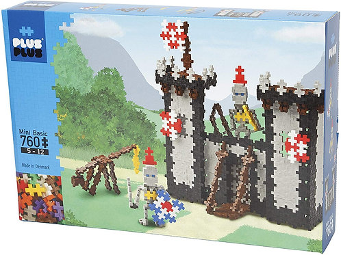 PLUS PLUS CASTLE & KNIGHTS 760 PCS