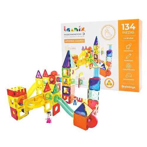 Imanix - 134 piezas - Tobogán