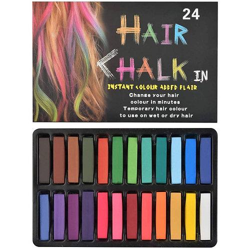 Tizas de color para el cabello