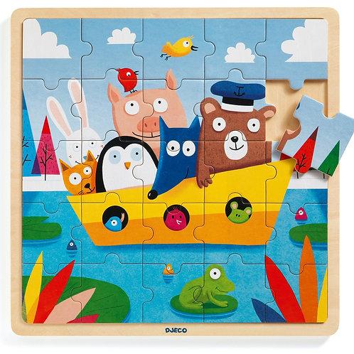 Puzzlo boat - Djeco