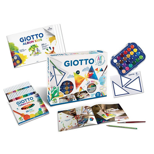 Giotto Art Lab Set Easy Painting