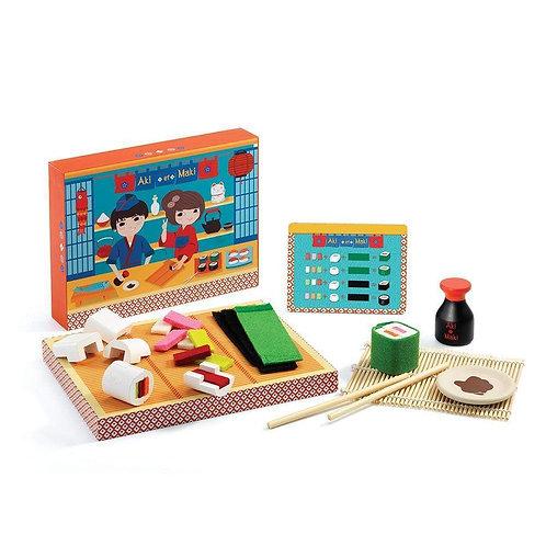 Aki et maki set de sushi - Djeco