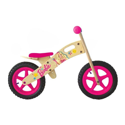 Bicicleta de Madera Barbie - Hot Wheels