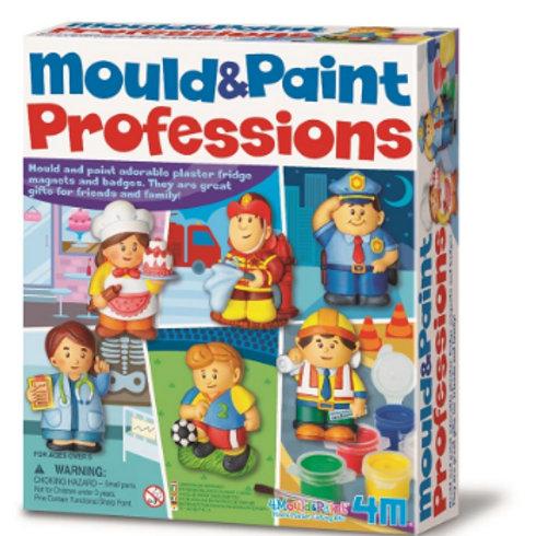 Moldea y Pinta Profesiones