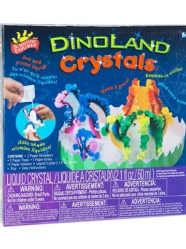 Tierra de Dinosaurios Cristales Líquidos