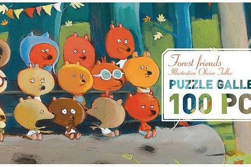 Puzzle Galerie Forest Friends - Djeco