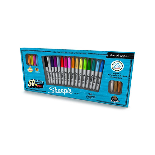 Sharpie 50 ways to use