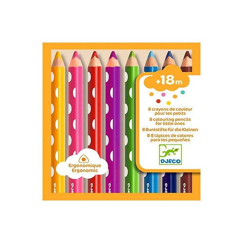 8 Lápices de Colores