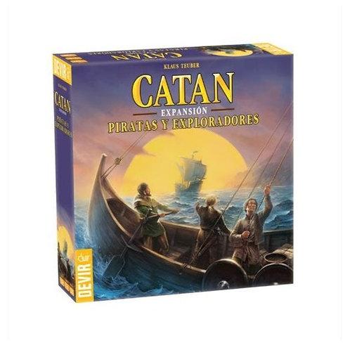 Catan Expansión - Piratas y Exploradores