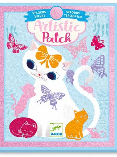 Artistic patch gatos - Djeco