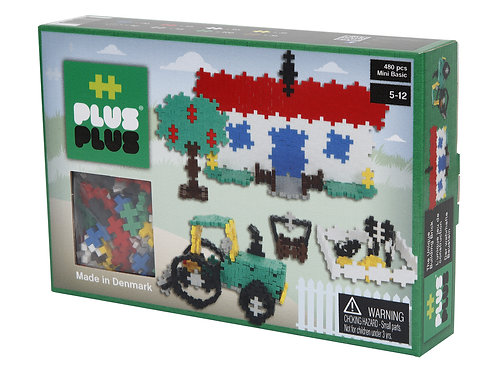 PLUS PLUS BASIC FARM 480 PCS