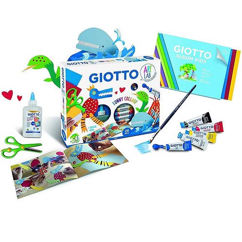 Giotto Art Lab Set Funny Collage