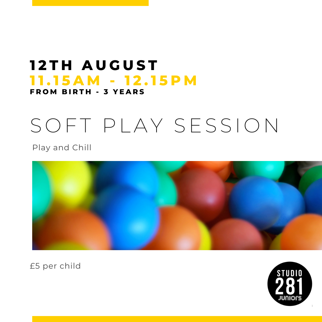 Juniors Soft Play - Session 1