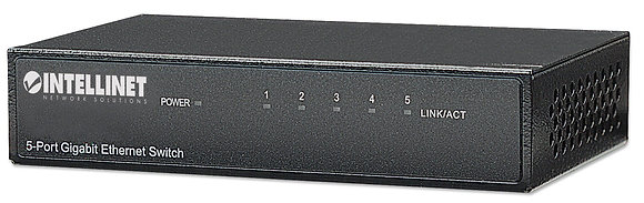 Intellinet 5-Port Gigabit Ethernet Switch