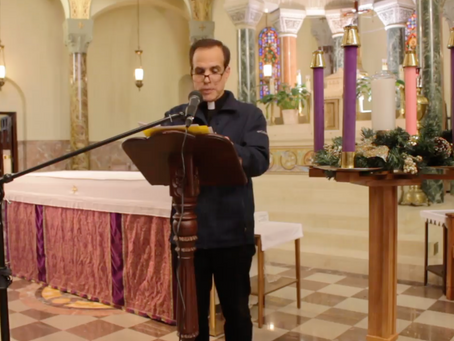 Advent season at St. Aedan's / Tiempo de Adviento en San Aedan's