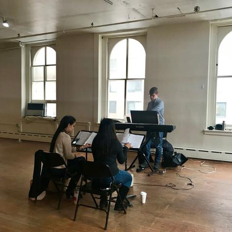 Rehearsal, February 2019