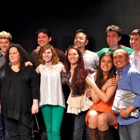 Classmates from the NYU Graduate Musical Theatre Writing Program